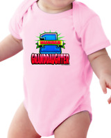 Infant Creeper Bodysuit One Piece T-shirt Number 1 # Granddaughter k-11