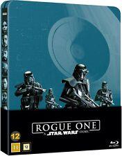 Rogue One: A Star Wars Story Steelbook 2D- Disc + Bonus Blu Ray (Region Free)