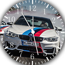 "BMW M Super Car wall Clock 10"" will be nice Gift and Room wall Decor E176"