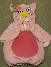 Koala Kids Pink Owl Costime Outfit 12 Months Halloween Soft Comfortable for Baby