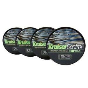 Korda Carp Fishing Kruiser Control Floating Line - All Sizes KM6-KM12