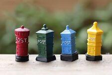 4 pcs Miniature Fairy Garden Mailbox (USA SELLER FAST SHIPPING)