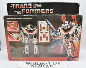 Jetfire MIB MACROSS PAINTED VARIANT WING EMBLEM Matsushiro 1986 G1 Transformers