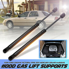 2p Hood Lift Supports Left & Right For Ford Crown Victoria Mercury Grand
