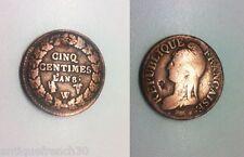 Ancienne pièce de 5 centimes l'an 8 W monnaie