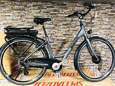 Bici Elettrica telaio Donna/unisex E-Spillo Egoing City Lady 7V Bianchi nuova