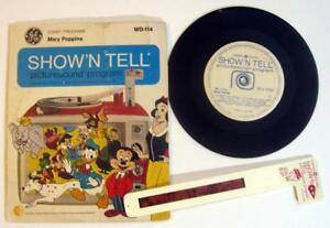 Disney MARY POPPINS ~ 1969 Show 'N Tell Record