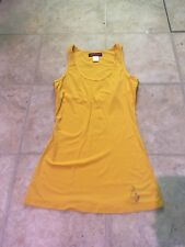 Women's Baby Phat Small Tank Top Gold  Club Party