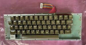 Apple II Computer DATANETICS Keyboard with Daughter Encoder PCB Tested
