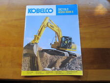 KOBELCO SK210LC Acera Mark 8  Color Sales Brochure in English