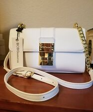 BCBPENERATION ANETTE CROSSBODY  Mini Reissue White -Evening Bag