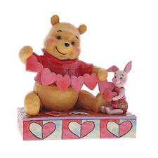 Disney Traditions 4059746 Handmade Valentines Winnie the Pooh Piglet Figurine