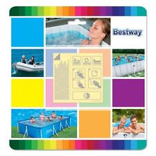 10 rustines kit reparation piscine bestway