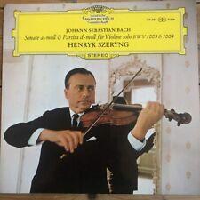139 389 Bach Sonata No. 2 / Partita No. 2 / Henryk Szeryng TULIP