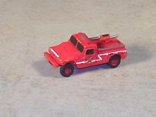 N Scale Red Hummer Brush Fire Truck
