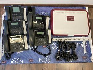 Bintec Elmeg Hybrid 300 Tk-System inkl. 5 Systemtelefonen + 1 Mobilteil