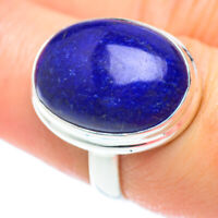 Lapis Lazuli 925 Sterling Silver Ring Size 7.5 Ana Co Jewelry R52887F