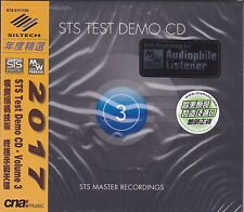 STS Test Demo CD Vol.3 STS Digital MW Coding Process Audiophile CD 2017 Siltech