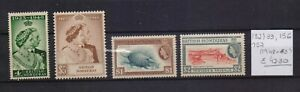 ! Honduras 1948-1953. Stamp. YT#132/133,156,157. €42.30!