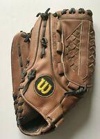 "Wilson ""The A2002"" XXC 13"" LHT Leather Softball Baseball Glove"