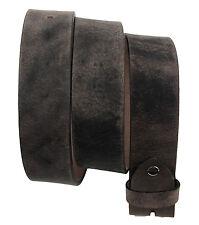 Western Speicher Gürtel Leder  Wechselgürtel  City Waxy Braun 85cm - 125cm