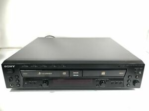 Sony RCD-W500C Compact Disc Recorder Vintage CD Player - For Parts and/or Repair