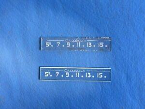 1949,1950,1951,1952 Pontiac Chieftain radio dial