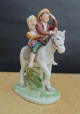 Norman Rockwell Museum Off To School Figurine with Box Nice!