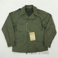 Bob Dong Reproduction US Army M-43 Field Jacket Fall Men's Military Uniform Coat