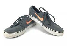 Nike Skateboarding Mens(Size 8.5) Stefan Janoski Skateboarding Shoes Grey/orange