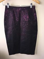 Topshop Ladies Purple Skirt Size 8<NH1969