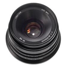 25mm F/1.8 Fixed Manual Focus Lens For Fujifilm X-mount X-A10 X-T20 X-A5 X-H1