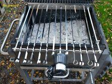 Spießdreher Spießantrieb für 13 Spieß Abstand 4 cm Grill Mangal ohne Zubehör