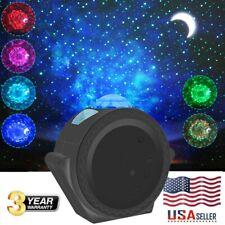 3-in-1 LED Starry Galaxy Light Romantic Night Sky Projector Star Lights Kid Gift