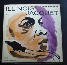 Illinois Jacquet And His Orchestra LP VG MG C-676 1st 1955 Clef Trumpeter Record