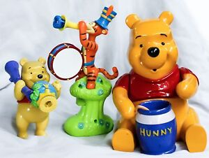 """Winnie the Pooh Tigger toy figure Toy 5"""" to 8"""" Bubble Blower Make Tiger Bear"""