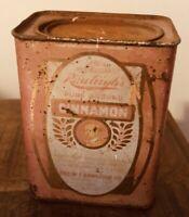 Vintage Rawleigh's Pure Ground Cinnamon Tin