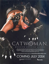 CATWOMAN MOVIE 2004 INKWORKS PROMOTIONAL SELL SALE SHEET HALIE BERRY