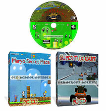 Secret Maryo Chronicles + Super Tux Cart 2 Super Mario Style Games For PC CD