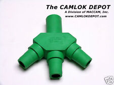 "Camlok ""Three-Fer"" - GREEN"