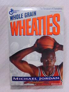 Collectible 1994 Michael Jordan Unopened Wheaties Box Collectors Edition  VGC