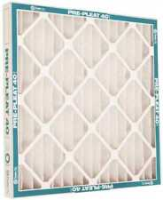 "FLANDERS MERV 8 PRE-PLEAT 40 LPD STANDARD AIR FILTER, 20X25X1"" CASE OF 12"