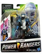 Power Rangers Beast Morphers: Silver Ranger Morph X-Key Action Figure Toy NEW