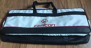 Stylish Vintage 1970s CARLTON Badminton Racquet Racket Bag Holdall