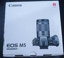 Canon EOS M5 Digital Camera and 18-150mm Lens Black