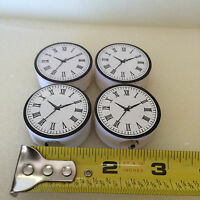 4 G-scale Station or Building Clock Faces, Can be Lighted,Mount on Wall/Pole NEW
