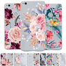 For Huawei P8 P9 Lite 2017/Y5 Y6 2017 Painted Soft Silicone Clear TPU Case Cover