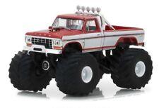 1979 Ford F-250 Monster Truck  Red /White*** Greenlight Kings of Crunch 1:64 NEU