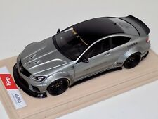 1/18 Mercedes Benz CLK C63 AMG Liberty Walk LB Performance Matt Silver Alcantara