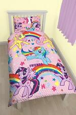 My Little Pony Party Parure Couette Simple Housse D'oreiller Ensemble Couverture